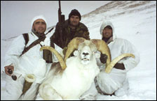 Sergei Shushunov Argali sheep hunting