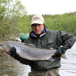 Sergei Shushunov Atlantic salmon fishing