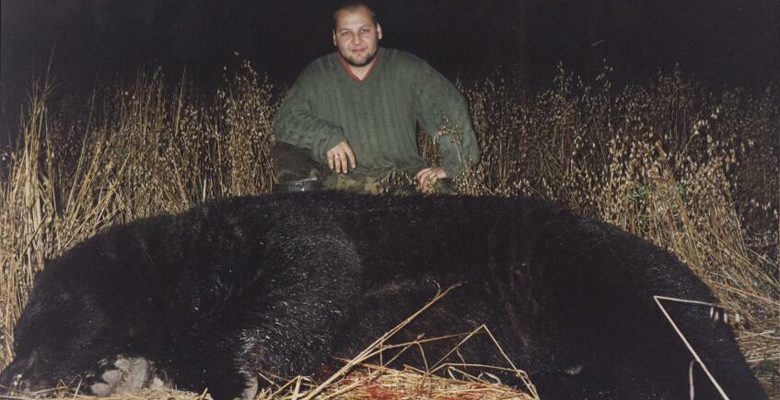 bear hunting Russia