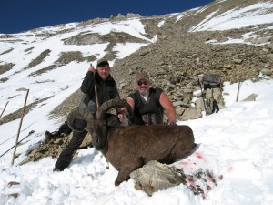 Daghestan tur hunt with Sergei Shushunov