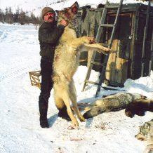 Sergei Shushunov wolf hunting in Russia
