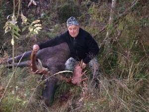 Sergei Shushunov European moose hunting