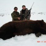 Sergei Shushunov   Brown Bear, Magadan
