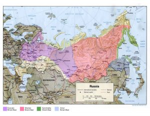 Brown Bear Distribution in Russia